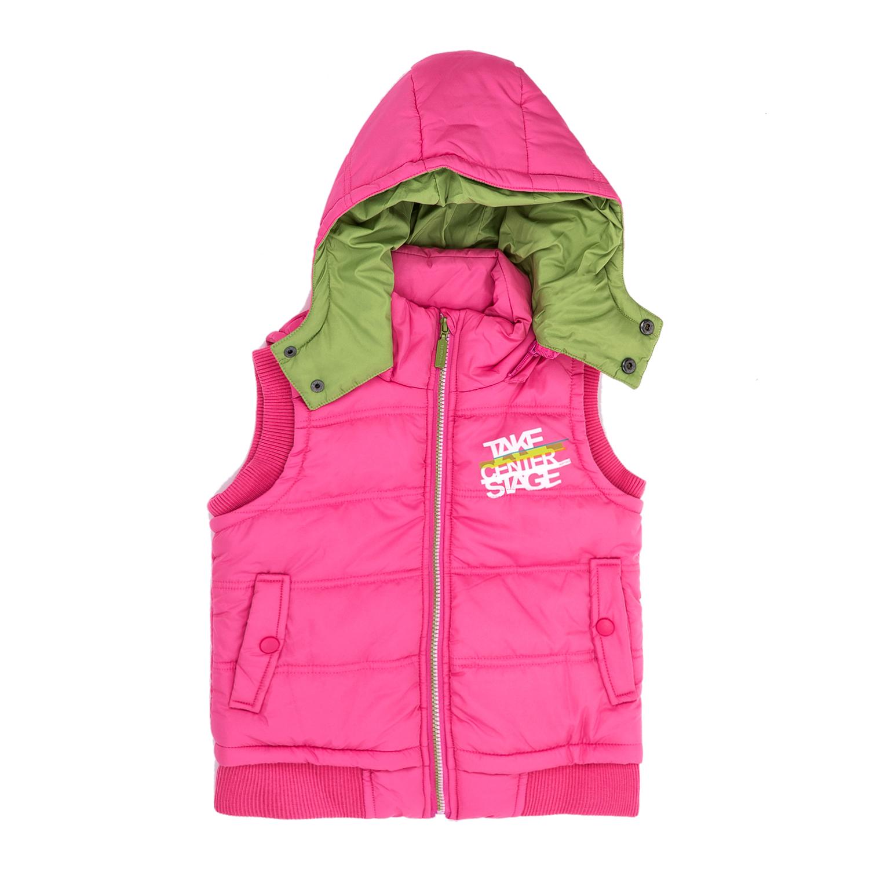BODYTALK – Παιδικό αμάνικο μπουφάν BODYTALK ροζ