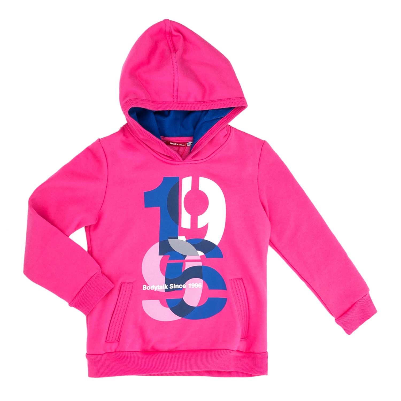BODYTALK – Παιδική μπλούζα φούτερ BODYTALK ροζ