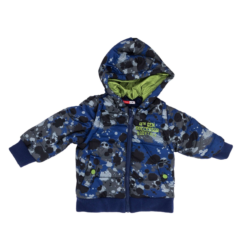 BODYTALK – Παιδικό μπουφάν BODYTALK μπλε-γκρι