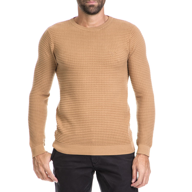GANT – Ανδρικό πουλόβερ GANT μπεζ