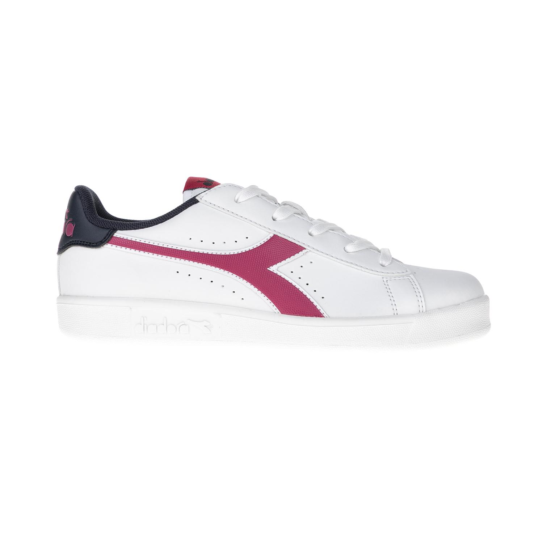 DIADORA – Παιδικά αθλητικά παπούτσια SPORT HERITAGE DIADORA λευκό-ροζ-μπλε