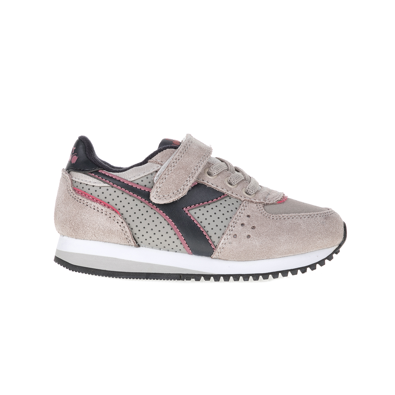 DIADORA – Παιδικά αθλητικά παπούτσια T3 MALONE S JR SPORT HERITAGE DIADORA γκρι