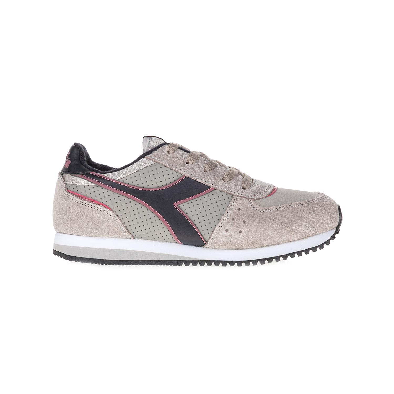 DIADORA – Παιιδικά αθλητικά παπούτσια T3 MALONE S Y SPORT HERITAGE DIADORA γκρι