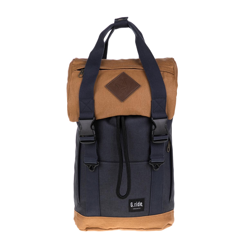 G.RIDE – Unisex τσάντα πλάτης ARTHUR G.RIDE μπλε-καφέ 1627324.0-13K7