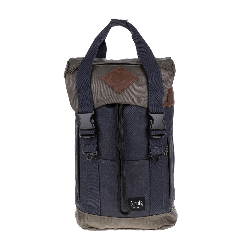 G.RIDE – Unisex τσάντα πλάτης ARTHUR G.RIDE λαδί-μπλε 1627325.0-13X1