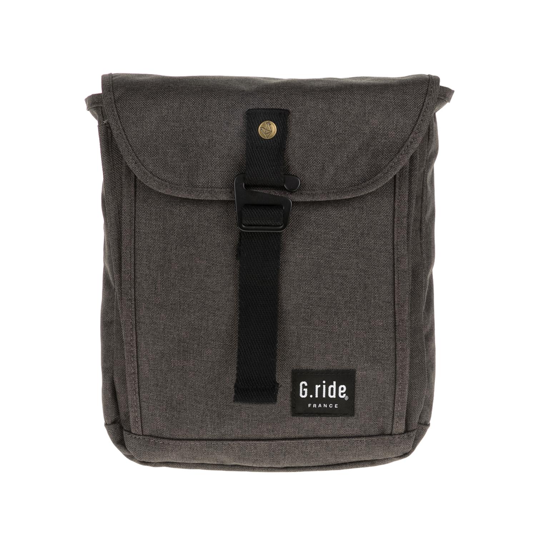 G.RIDE – Ανδρική τσάντα ώμου CHARLES G.RIDE καφέ-μαύρη