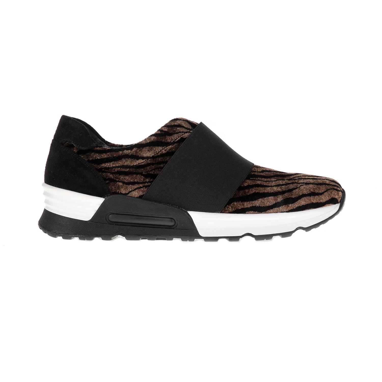 CHANIOTAKIS – Γυναικεία παπούτσια SPORT VELVET καφέ