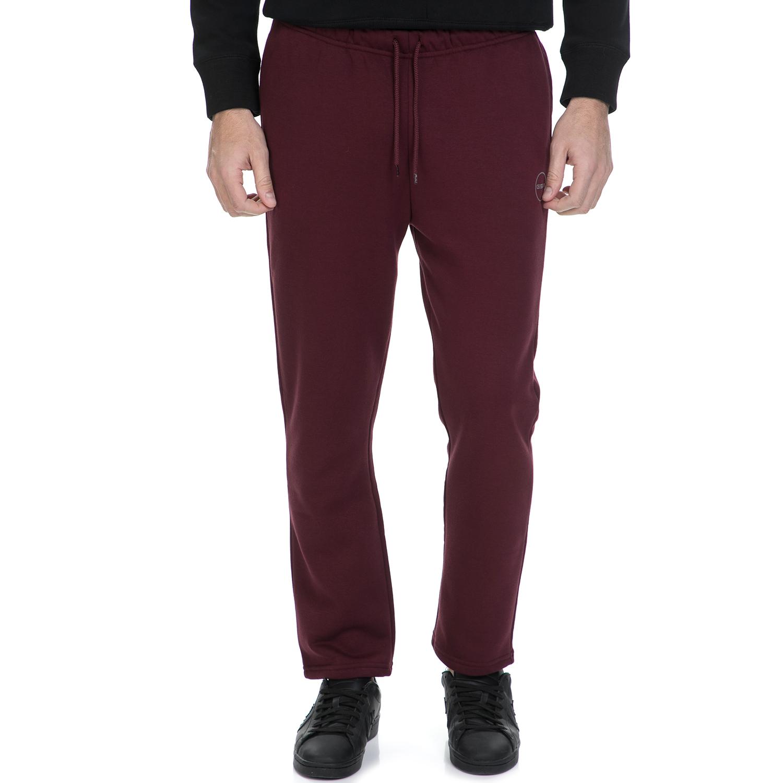 GSA – Ανδρικό παντελόνι φόρμας GSA μπορντό