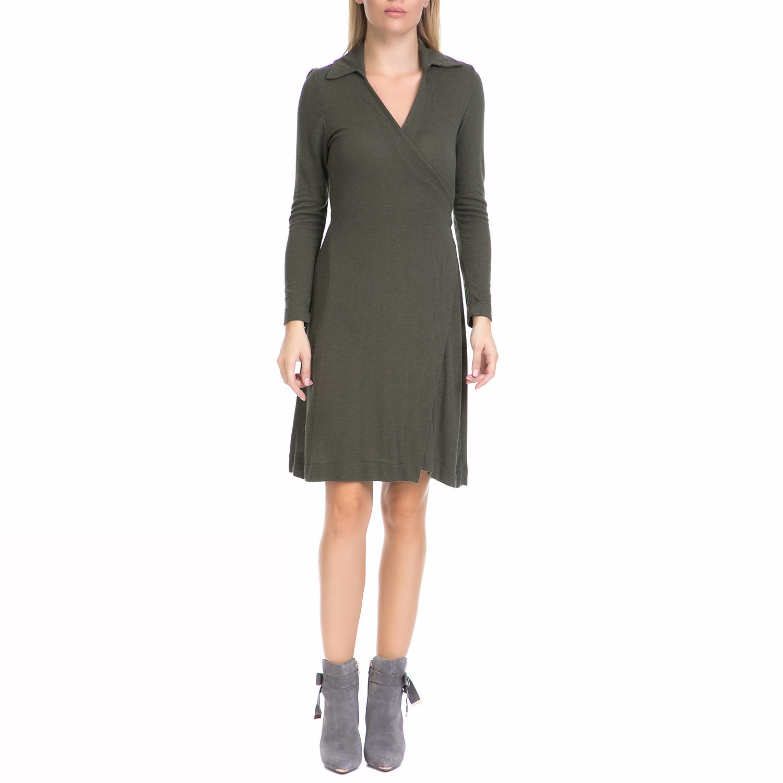 MYMOO – Γυναικείο φόρεμα MYMOO χακί