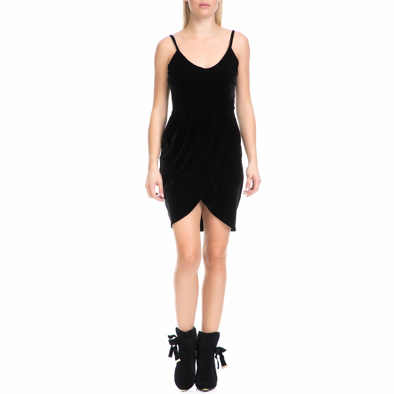d421ee16c312 MYMOO - Γυναικείο φόρεμα MYMOO μαύρο ⋆ egynaika.gr