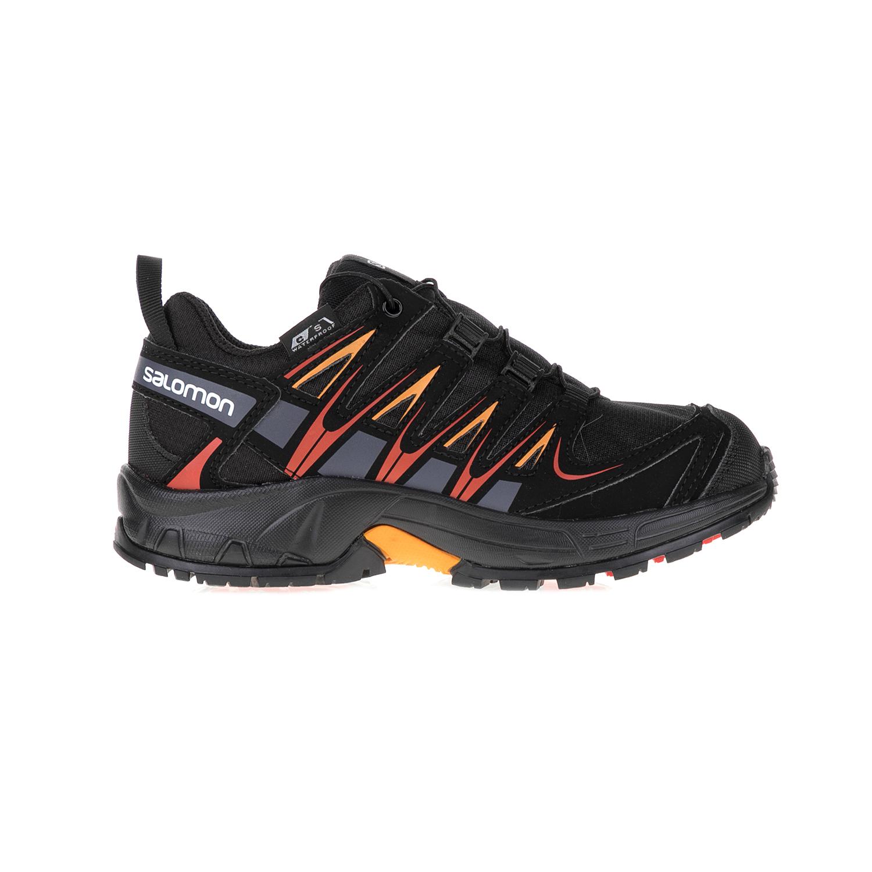 SALOMON – Παιδικά αθλητικά παπούτσια SALOMON μαύρα