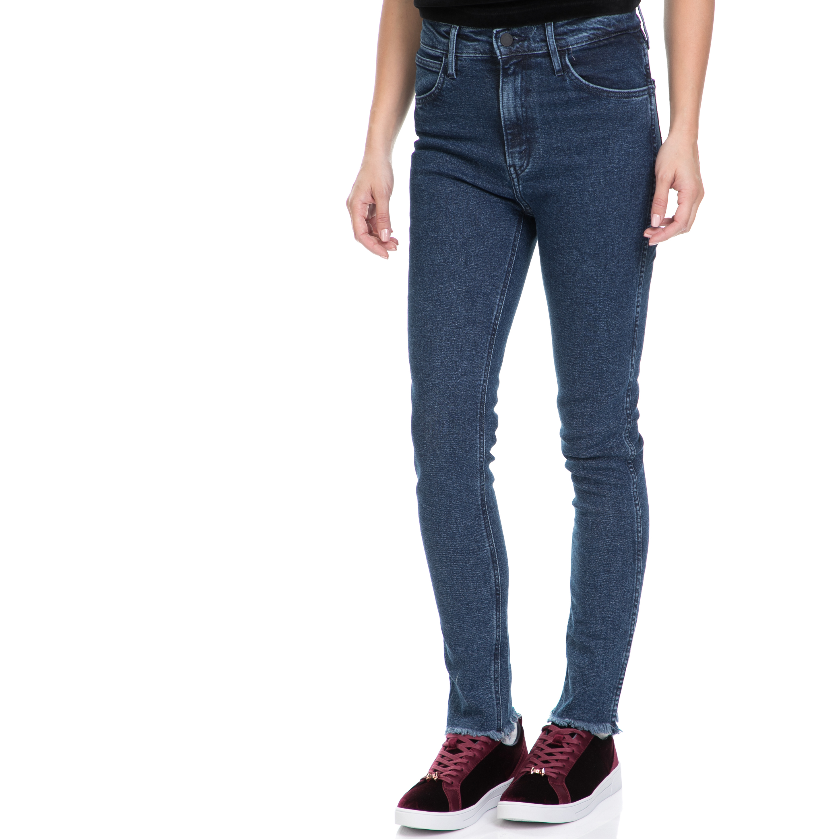 LEVI'S – Γυναικείο τζιν παντελόνι L8 HIGH SKINNY LEVI'S μπλε