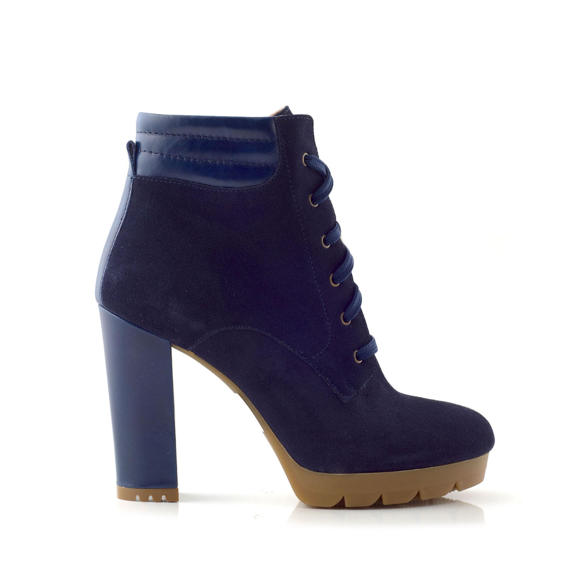 CHANIOTAKIS – Γυναικεία μποτάκια SOFTY μπλε