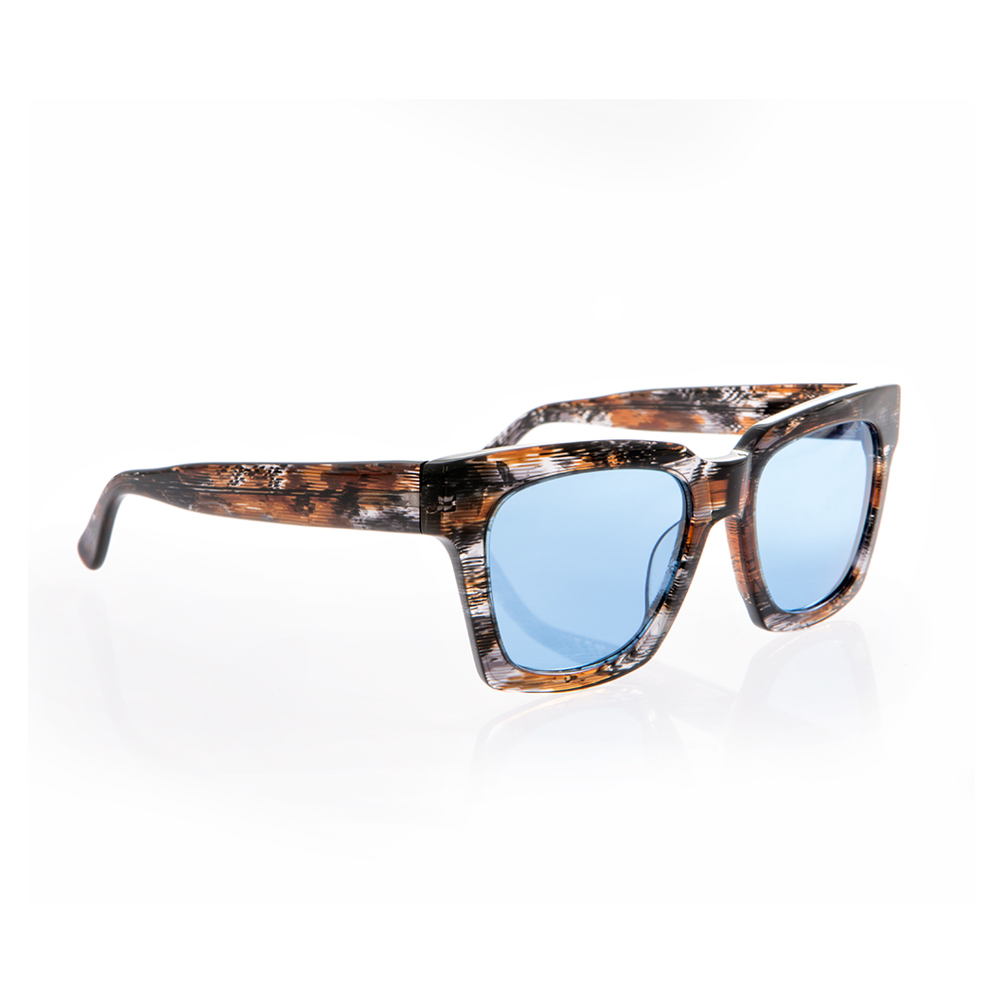 4e287764e0 FOLLI FOLLIE - Γυναικεία τετράγωνα γυαλιά ηλίου Folli Follie δίχρωμα
