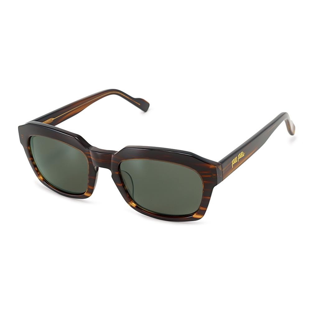 FOLLI FOLLIE - Γυναικεία τετράγωνα γυαλιά ηλίου Folli Follie σκούρο καφέ 3bf8f4049fe