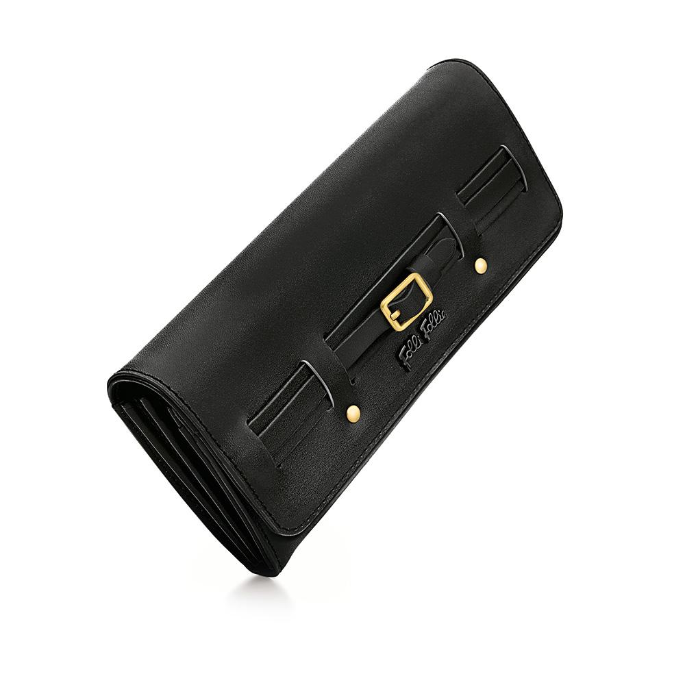 FOLLI FOLLIE – Γυναικείο πορτοφόλι FOLLI FOLLIE μαύρο