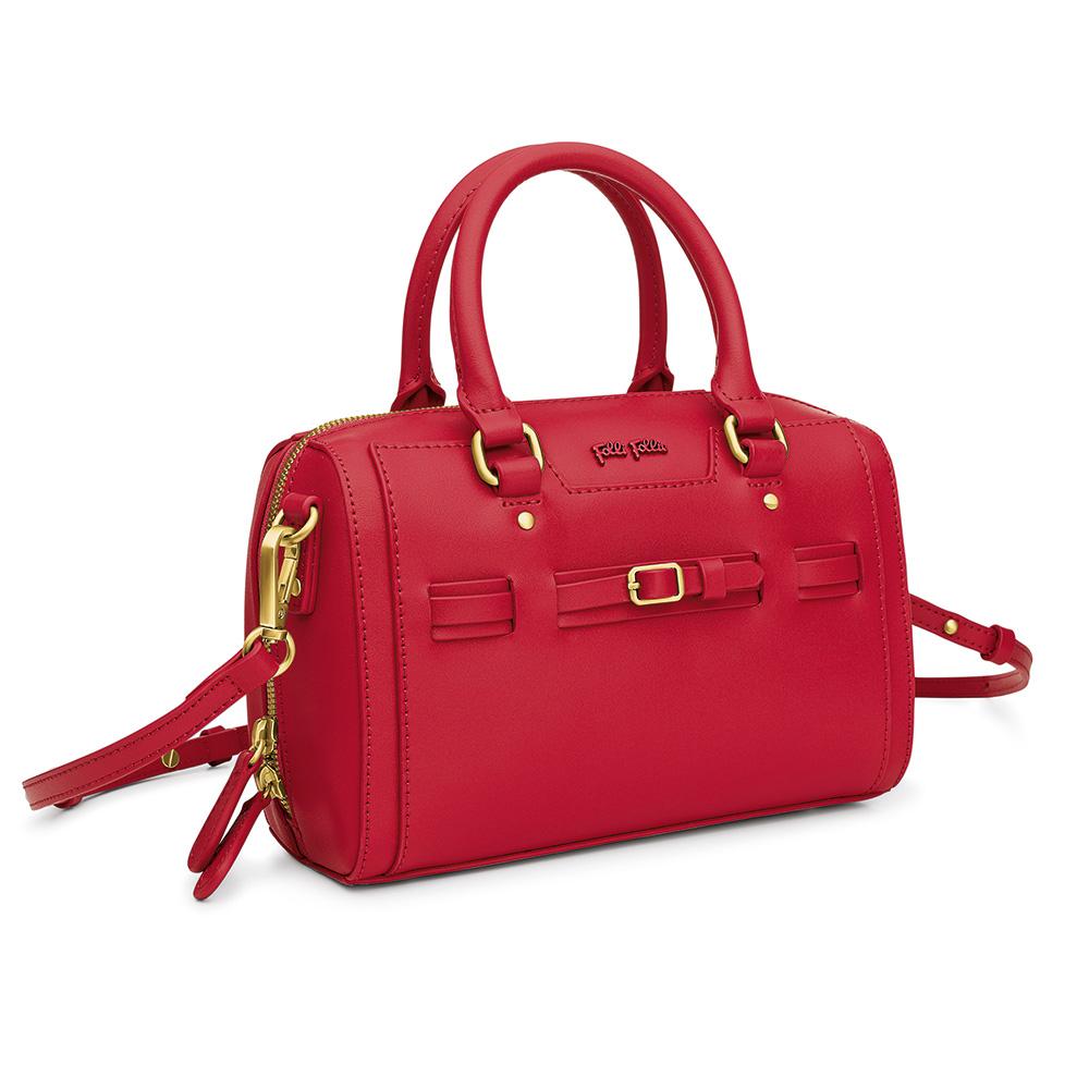 FOLLI FOLLIE – Γυναικεία τσάντα χειρός FOLLI FOLLIE κόκκινη 1629143.0-0000