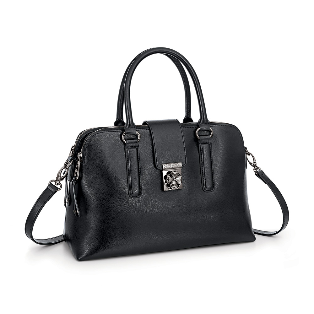 FOLLI FOLLIE – Γυναικεία τσάντα χειρός FOLLI FOLLIE μαύρη 1629146.0-0000