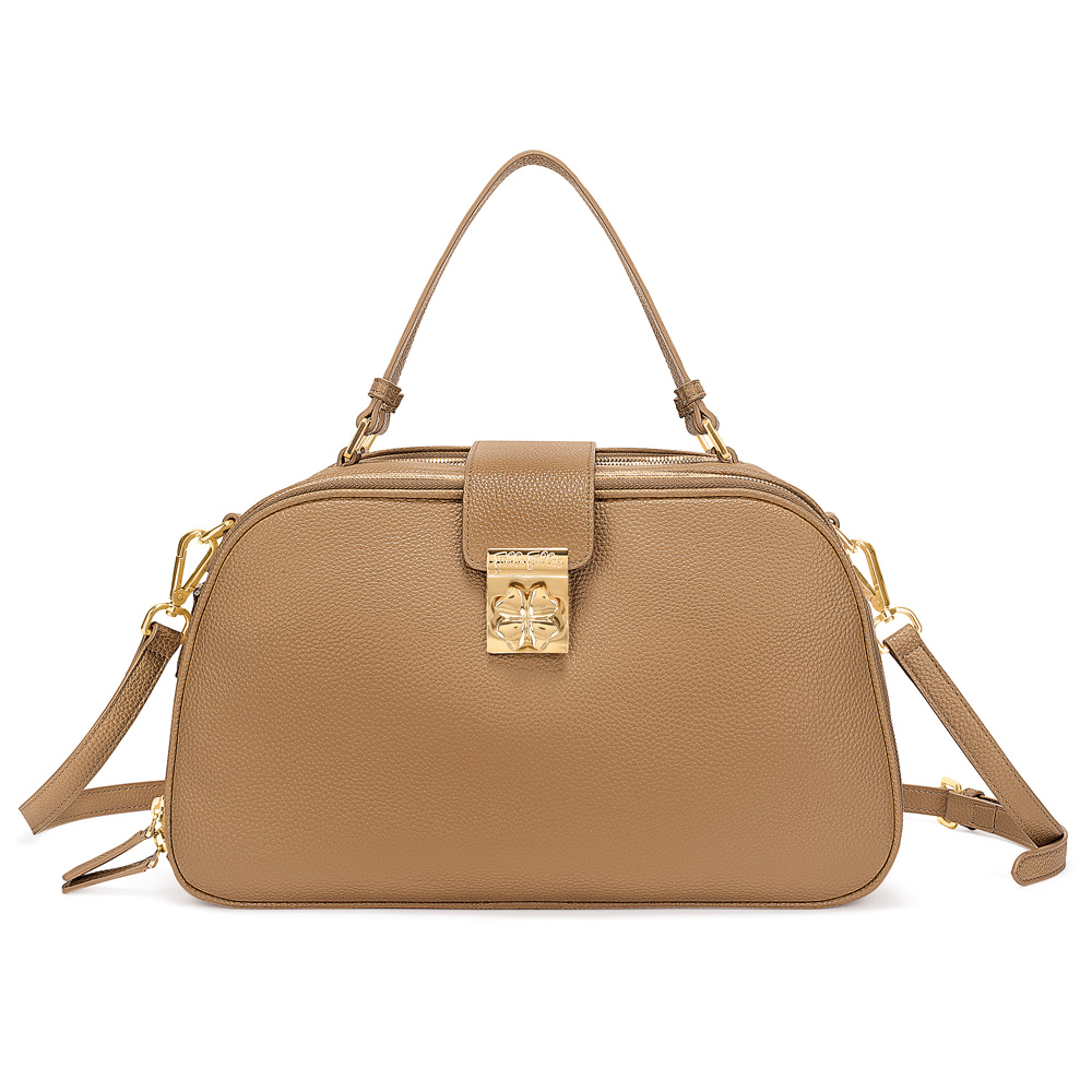 FOLLI FOLLIE – Γυναικεία τσάντα χειρός FOLLI FOLLIE καφέ 1629155.0-0000