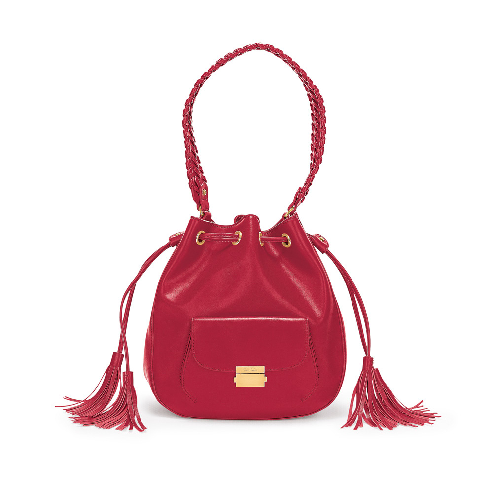 0194a1a0f22 FOLLI FOLLIE - Γυναικεία τσάντα/πουγκί FOLLI FOLLIE κόκκινη | e ...