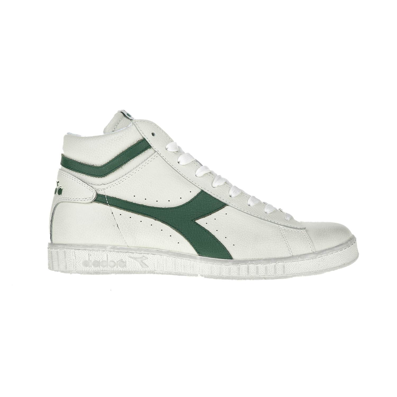 DIADORA – Unisex αθλητικά μποτάκια T1/T2 GAME L HIGH WAXED DIADORA λευκά-πράσινα