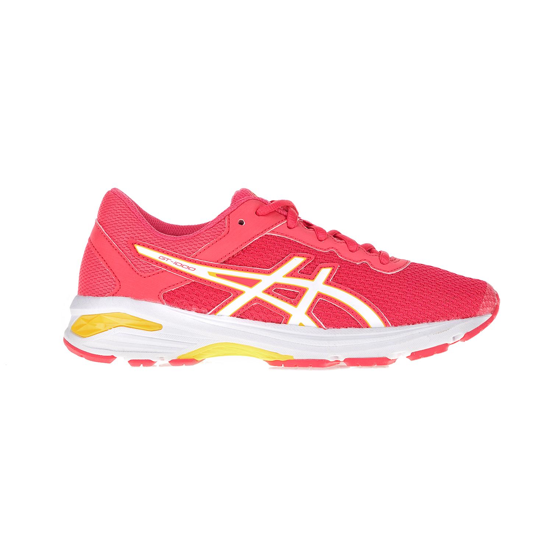 ASICS - Παιδικά αθλητικά παπούτσια ASICS GT-1000 6 GS ροζ-λευκά