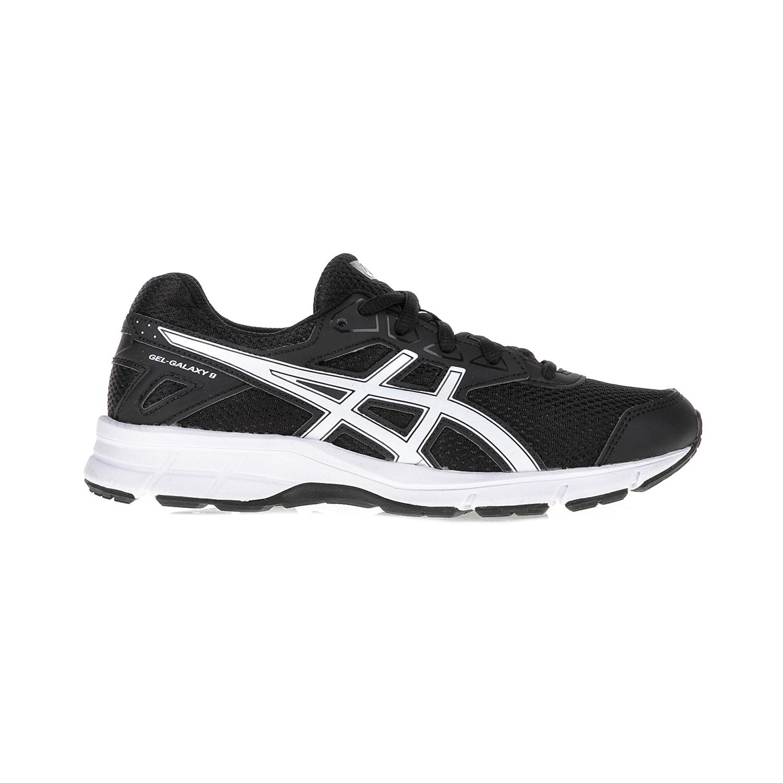 ASICS – Παιδικά αθλητικά παπούτσια ASICS GEL-GALAXY 9 GS μαύρα-λευκά
