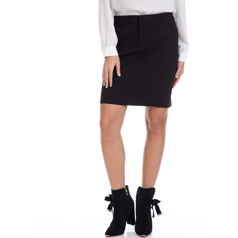 TOMMY HILFIGER – Γυναικεία φούστα HABBANA TOMMY HILFIGER μαύρη