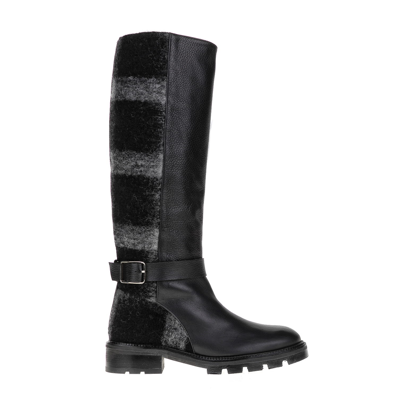 CASTANER - Γυναικείες μπότες CASTANER μαύρες-γκρι γυναικεία παπούτσια μπότες μποτάκια μπότες