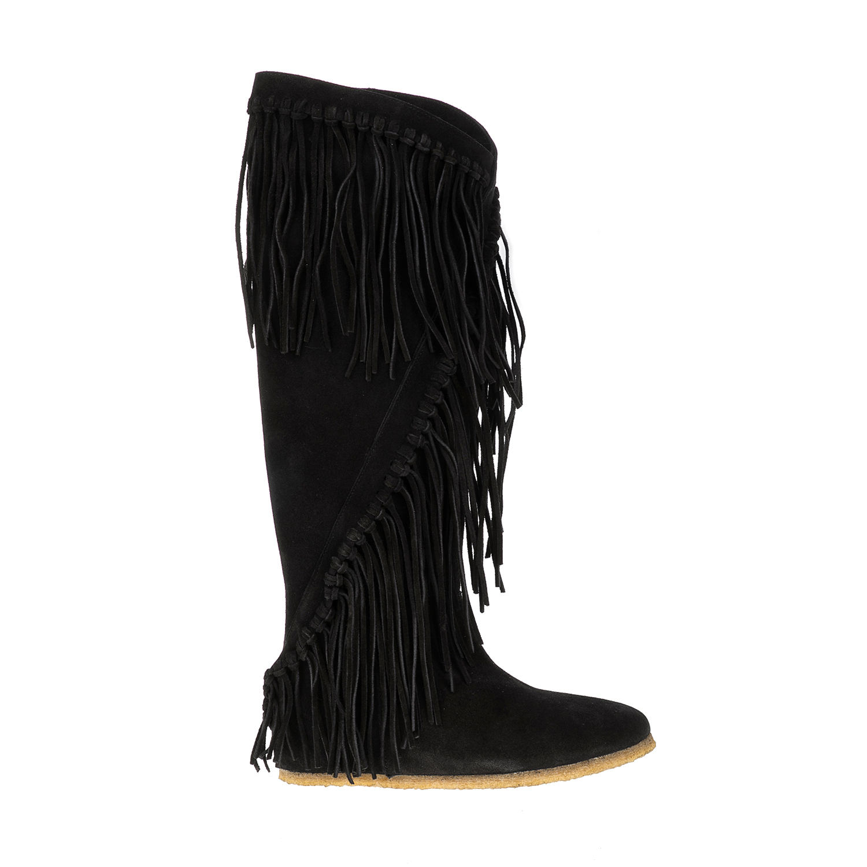 CASTANER - Γυναικείες μπότες ISOLDA CASTANER μαύρες γυναικεία παπούτσια μπότες μποτάκια μπότες