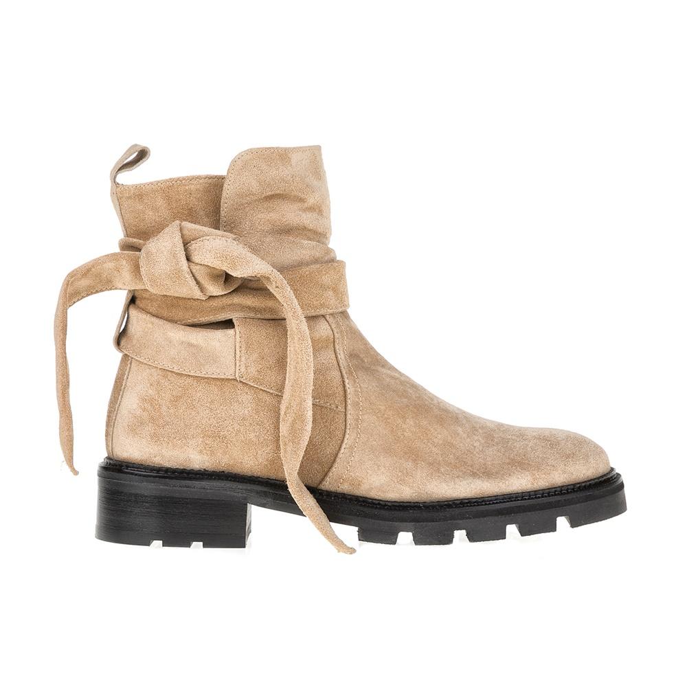 CASTANER - Γυναικεία μποτάκια CASTANER μπεζ γυναικεία παπούτσια μπότες μποτάκια μποτάκια
