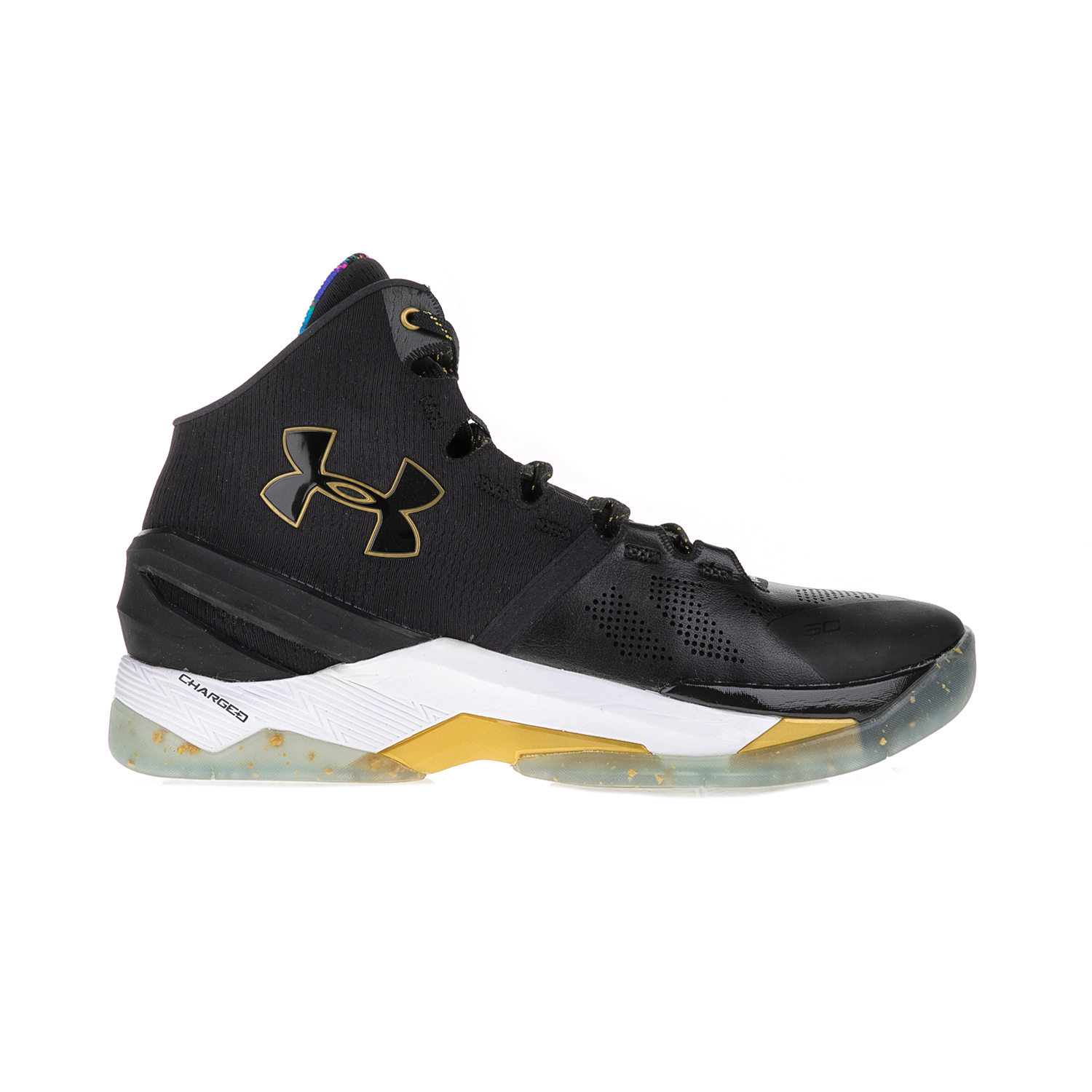 UNDER ARMOUR - Ανδρικά παπούτσια μπάσκετ UNDER ARMOUR CURRY 2 LE μαύρα