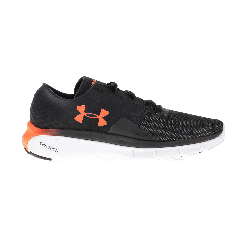 UNDER ARMOUR – Ανδρικά αθλητικά παπούτσια UNDER ARMOUR Speedform Fortis 2.1 μαύρα-πορτοκαλί