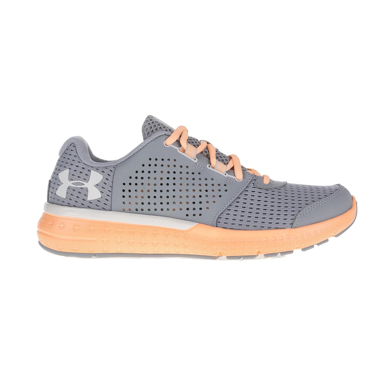 UNDER ARMOUR – Γυναικεία παπούτσια για τρέξιμο Under Armour Micro G Fuel RN γκρι – πορτοκαλί