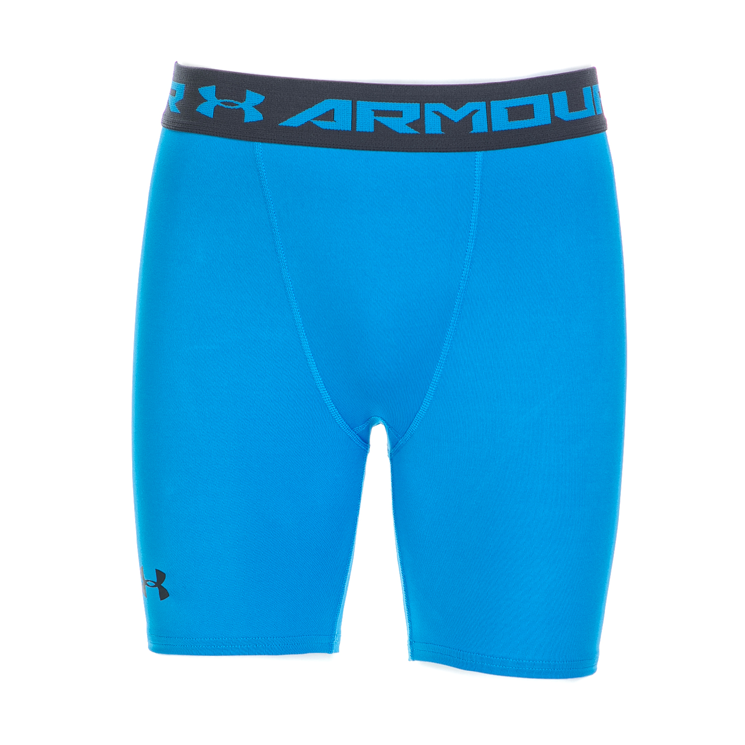 UNDER ARMOUR - Ανδρικό αθλητικό κοντό κολάν Under Armour HG COMP μπλε ανδρικά ρούχα αθλητικά κολάν
