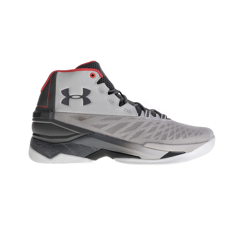 UNDER ARMOUR – Ανδρικά αθλητικά παπούτσια UNDER ARMOUR Longshot γκρι-κόκκινα