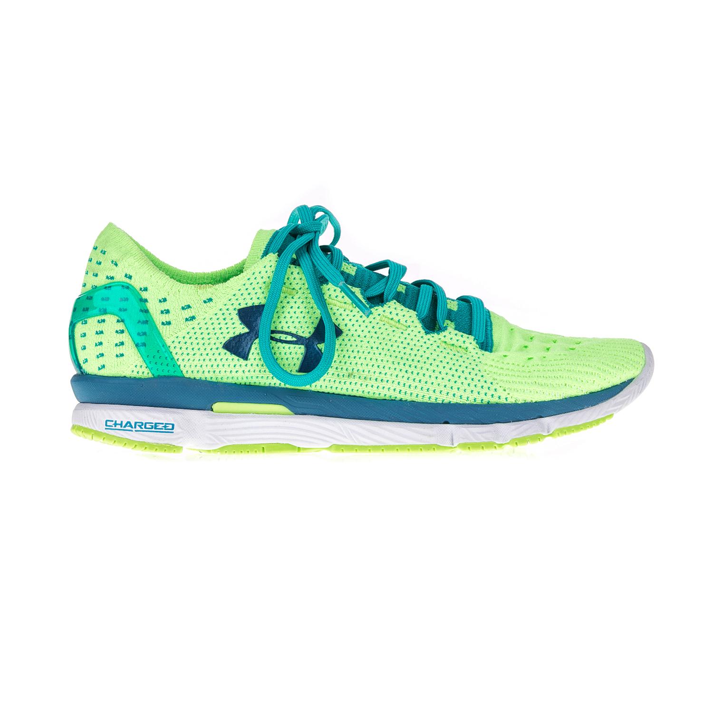 UNDER ARMOUR – Γυναικεία αθλητικά παπούτσια UNDER ARMOUR SPEEDFORM SLINGSHOT πράσινα-μπλε