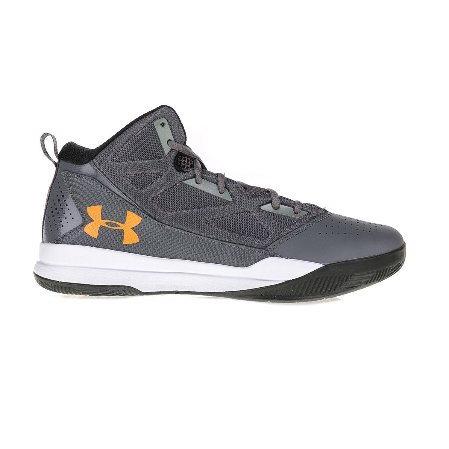UNDER ARMOUR – Ανδρικά παπούτσια μπάσκετ UNDER ARMOUR Jet Mid γκρι