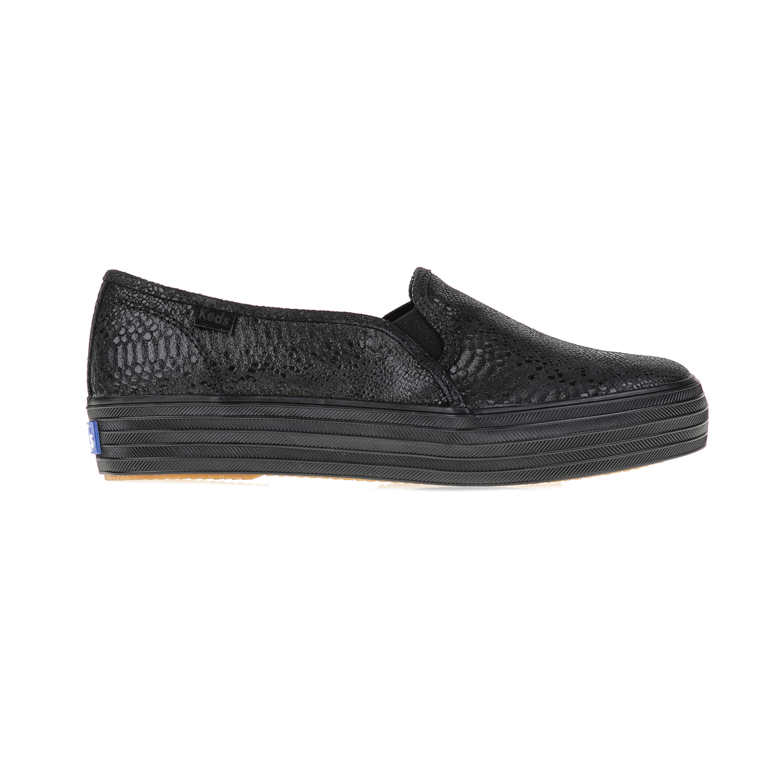 KEDS – Γυναικεία slip on TRIPLE DECKER EXOTIC SHIMMER B KEDS μαύρα