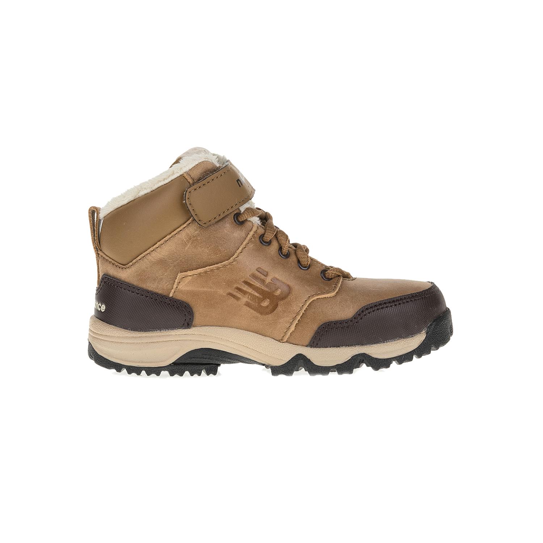 NEW BALANCE - Παιδικά ορειβατικά μποτάκια NEW BALANCE KV754KHY καφέ παιδικά boys παπούτσια μπότες μποτάκια