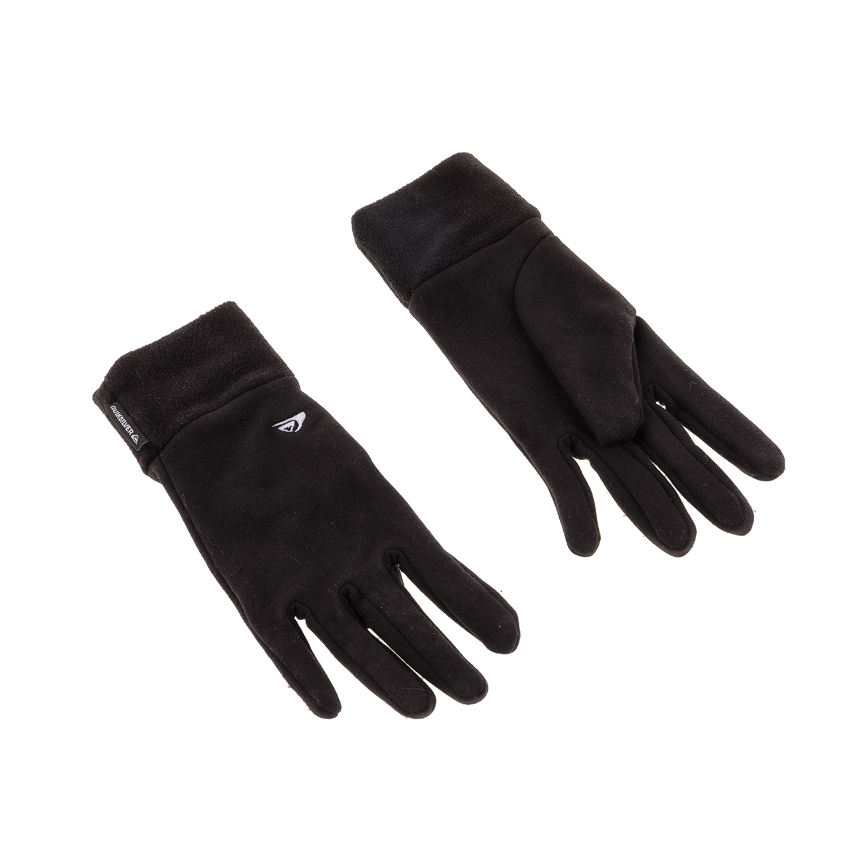 QUICKSILVER - Ανδρικά γάντια HOTTAWA QUICKSILVER μαύρα ανδρικά αξεσουάρ φουλάρια κασκόλ γάντια