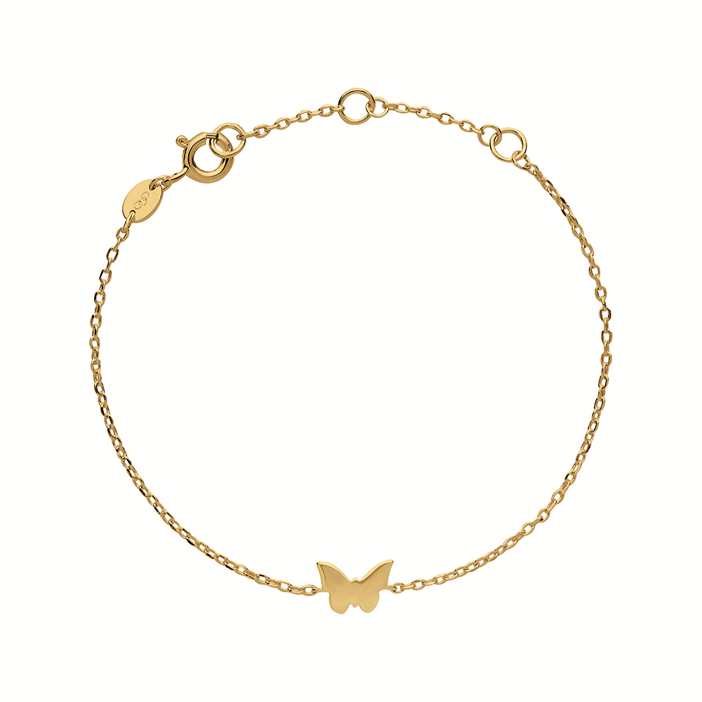 LINKS OF LONDON – Ασημένιο βραχιόλι Outlet Butterfly