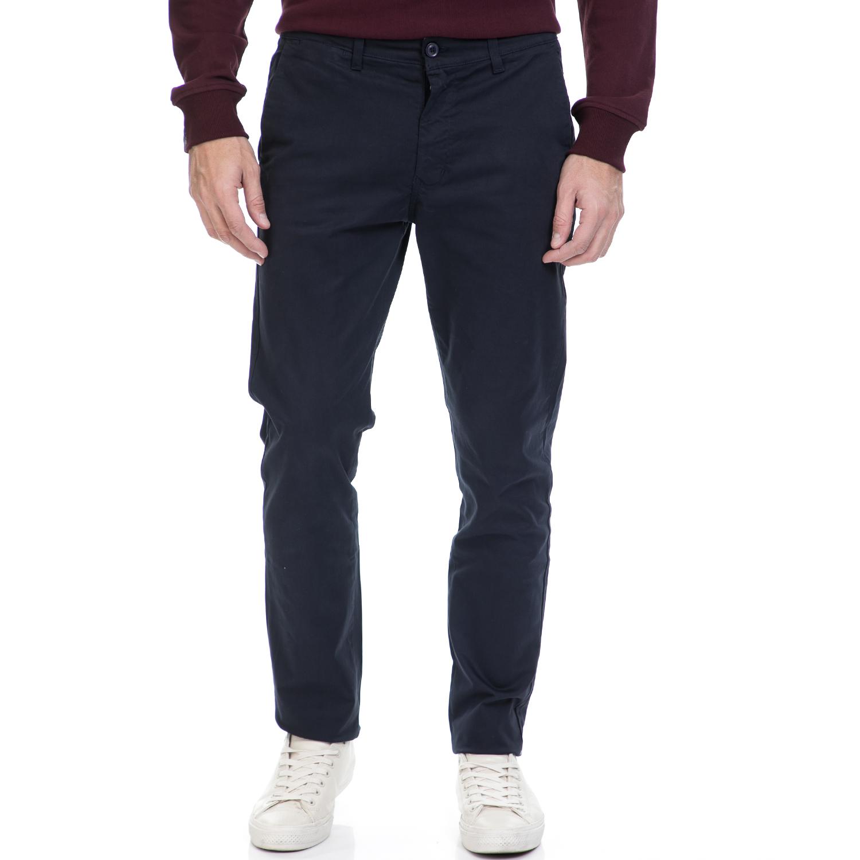 HAMPTONS – Ανδρικό παντελόνι HAMPTONS CHINO μπλε