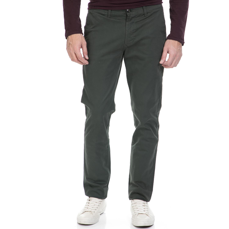 HAMPTONS – Ανδρικό παντελόνι HAMPTONS CHINO χακί