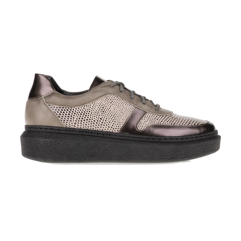 CHANIOTAKIS – Γυναικεία παπούτσια SPORT AFRICA CHANIOTAKIS μπεζ-καφέ
