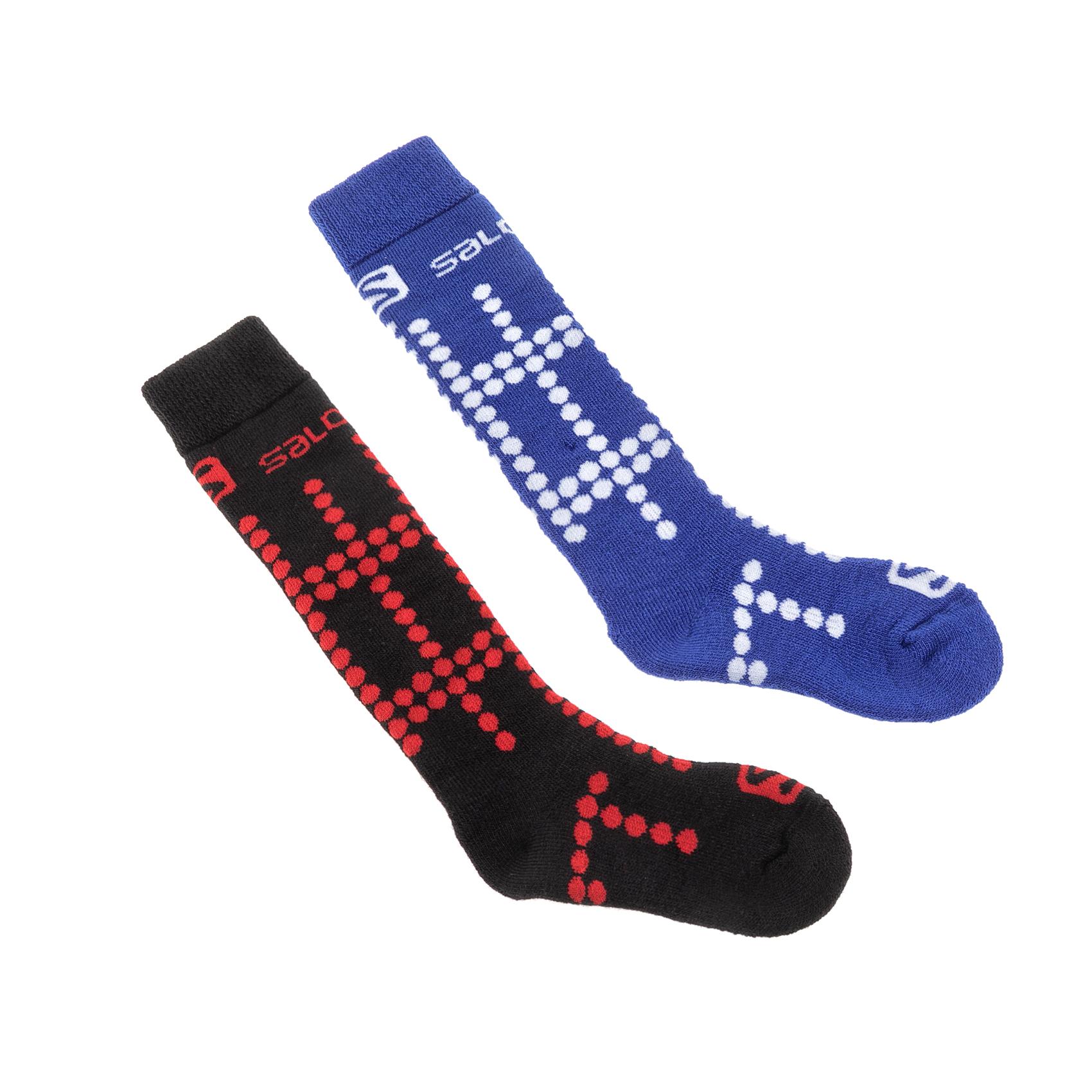 SALOMON – Παιδικές κάλτσες σκι SALOMON μαύρες-μπλε