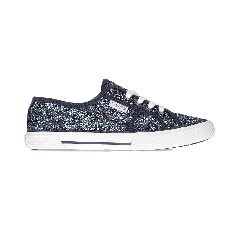 FUNKY BUDDHA – Γυναικεία sneakers FUNKY BUDDHA μπλε-λευκά