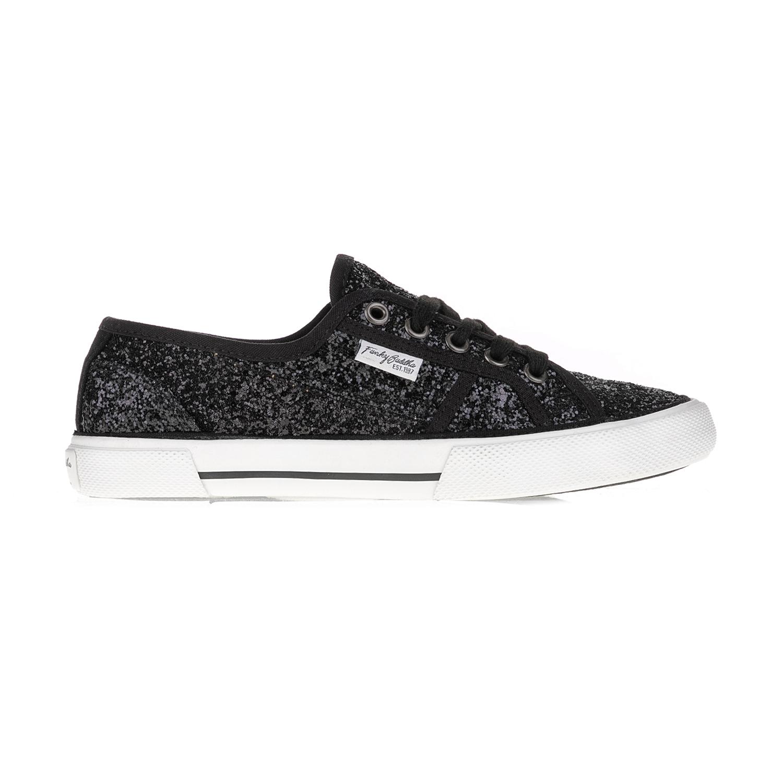 FUNKY BUDDHA – Γυναικεία sneakers FUNKY BUDDHA μαύρα-λευκά