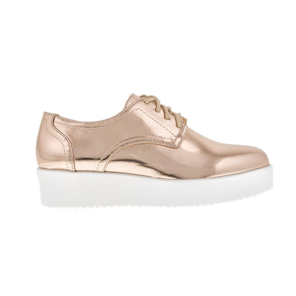 FUNKY BUDDHA – Γυναικεία παπούτσια FUNKY BUDDHA ροζ χρυσά