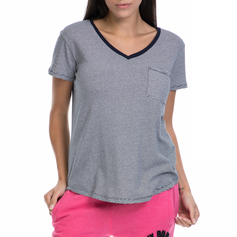 FUNKY BUDDHA – Γυναικεία μπλούζα FUNKY BUDDHA γκρι